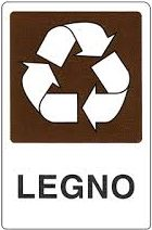 legno riciclabile