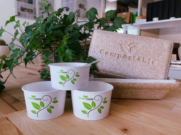coppette gelato biodegradabili