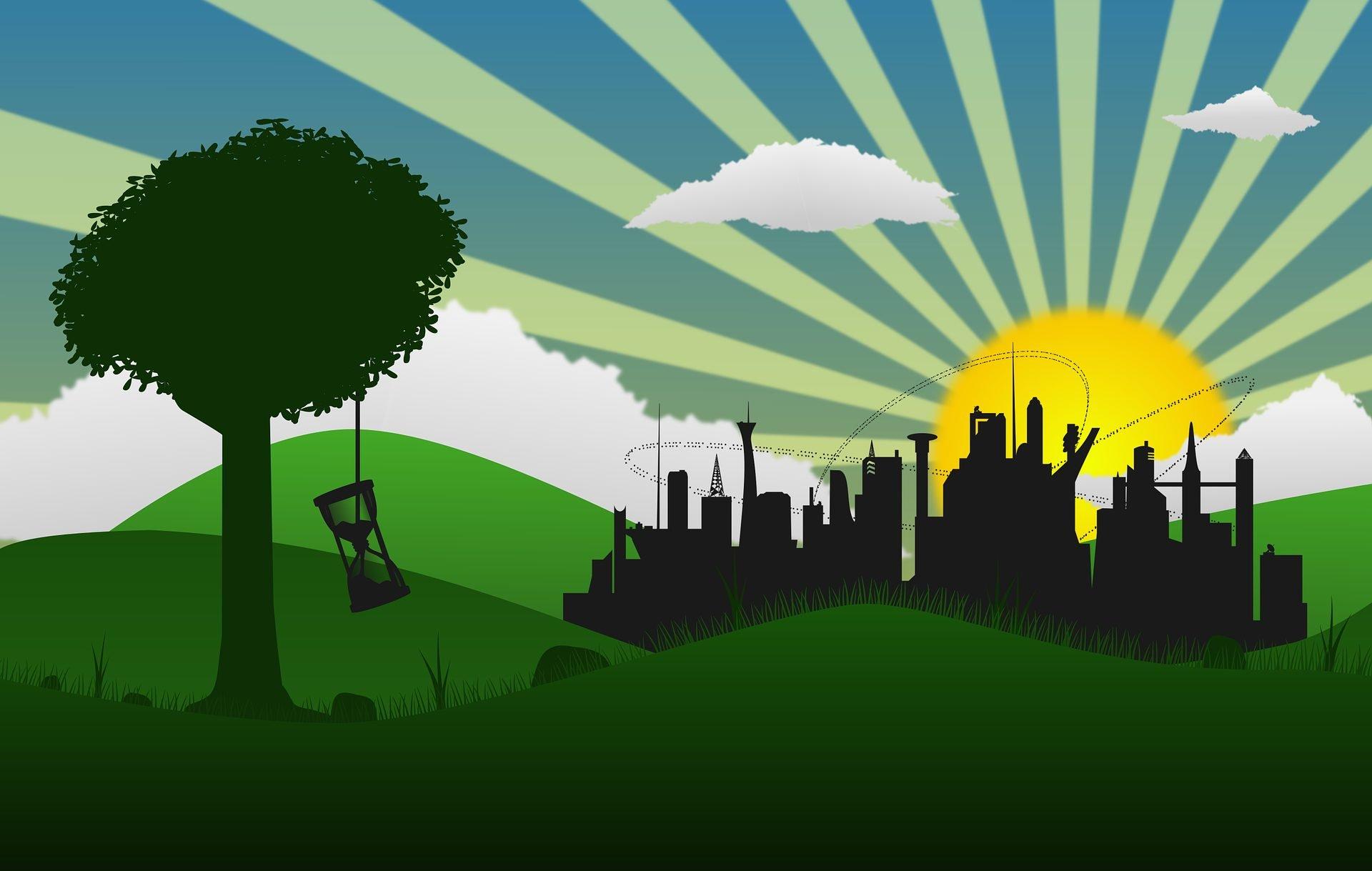 mondo sostenibile città tempo