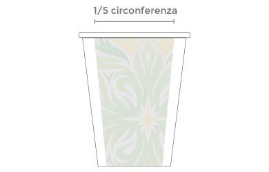 Bicchiere Bevande Calde 240 ml - PERSONALIZZATO